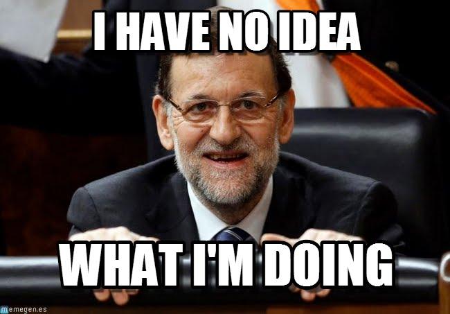 Rajoy también fue objeto de memes