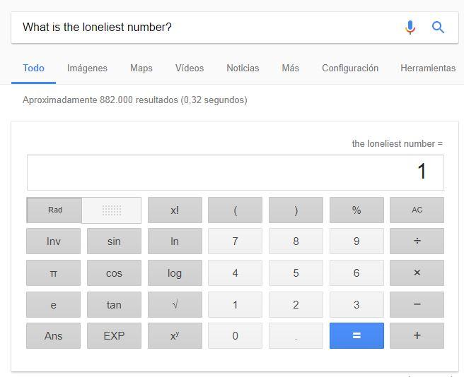 Una búsqueda en Google.