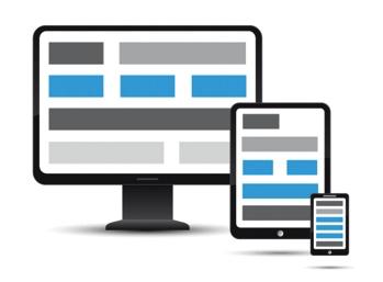 En la web responsive los tamaños de pantalla varían considerablemente