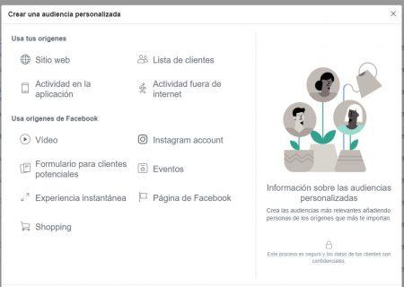 Cómo crear una audiencia en Facebook